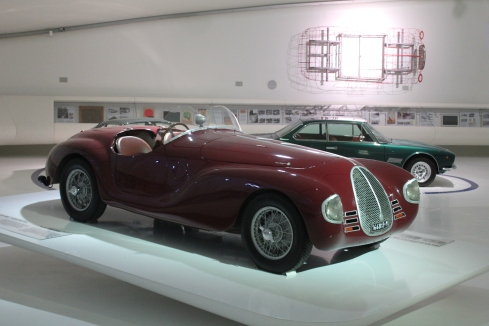 One of the 2 built, 1940 Auto Avio Costruzioni 815.  It was the first car to be fully designed and built by Enzo Ferrari.