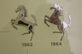 Logo changes throughout the years are displayed