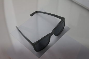 Enzo's trademark sunglasses