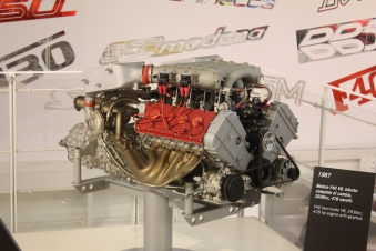 1987 Ferrari F40 bi-Turbo Motor
