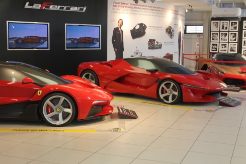 Project F150  (LaFerrari)development cars.